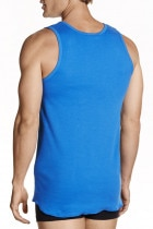 Jockey Athletic Singlet Royal
